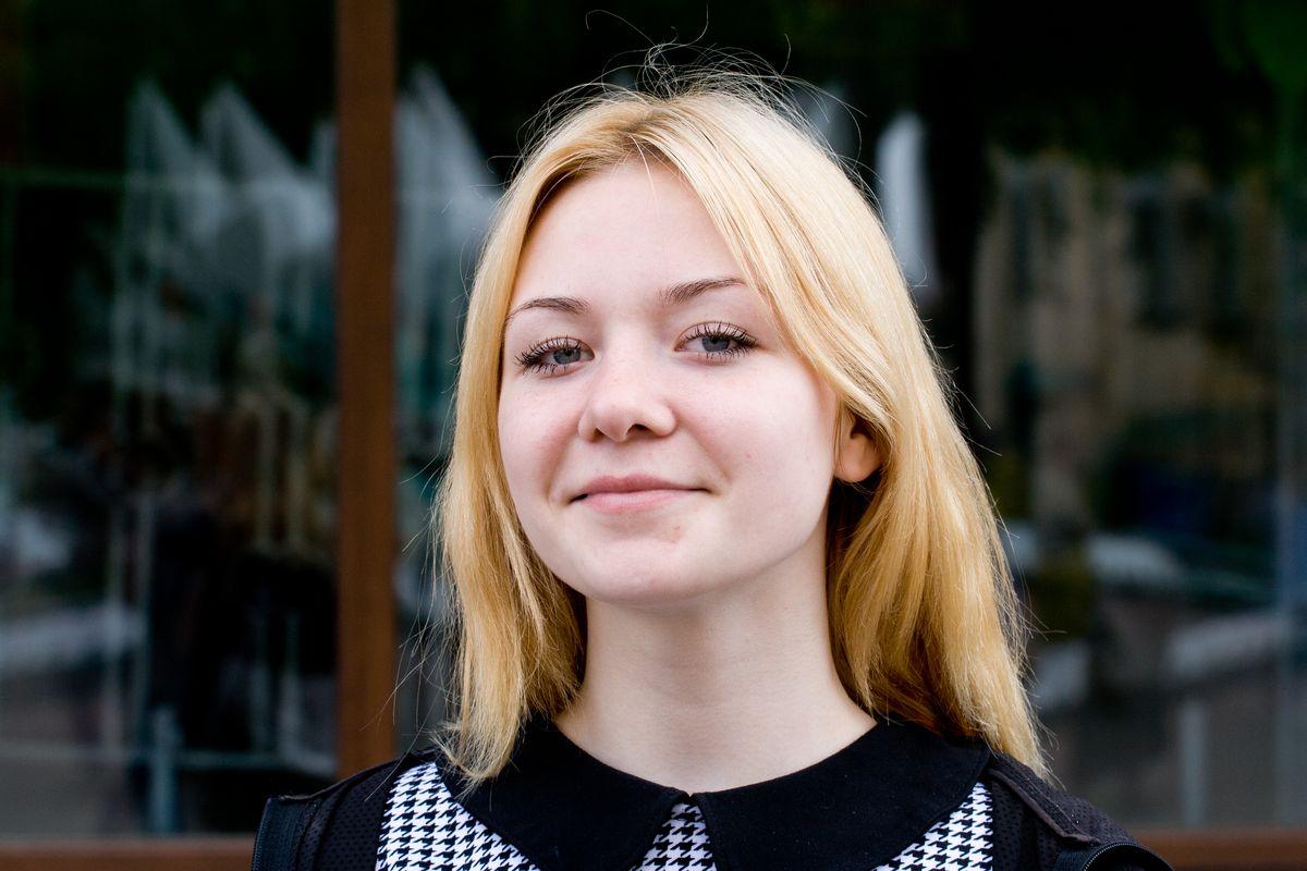 Екатерина Дремук, учащаяся лицея № 61.