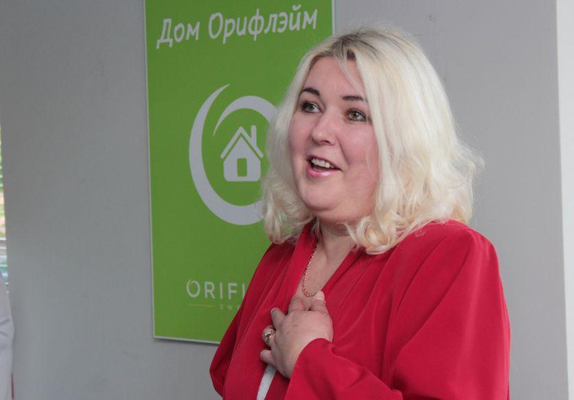 Татьяна Бибикова рассказывает, каких трудов ей стоит похудение. Фото: Юрий ПИВОВАРЧИК.