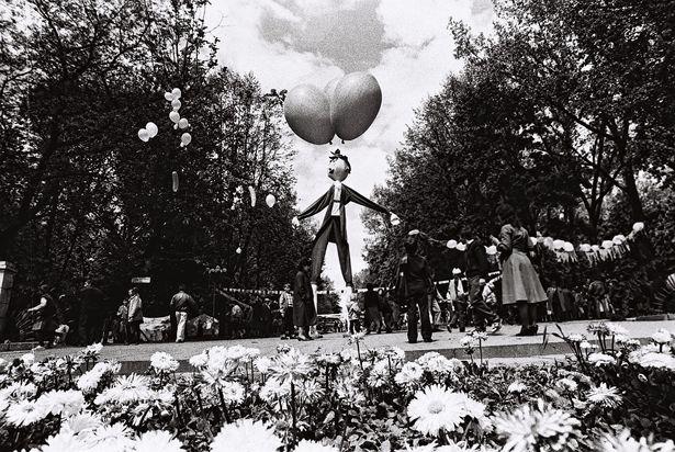 Город детства в городском парке отдыха, 1991 год. Фото: Яковенко В.П. из фондов Барановичского краеведческого музея
