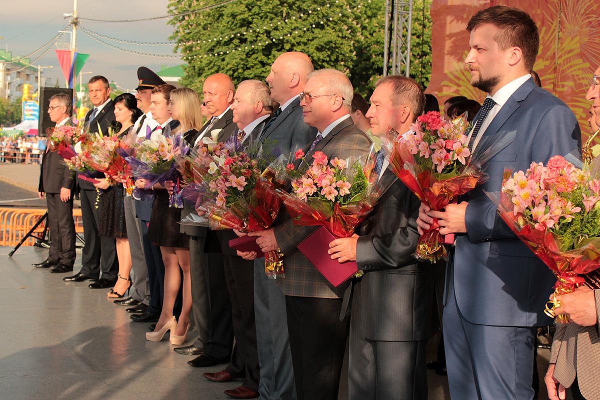 Лауреаты премии «Человек года». Фото: Юрий ПИВОВАРЧИК