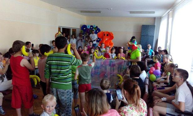 Частью акции стали разнообразные конкурсы для детей.  Фото: Екатерина ТЕЛЮК