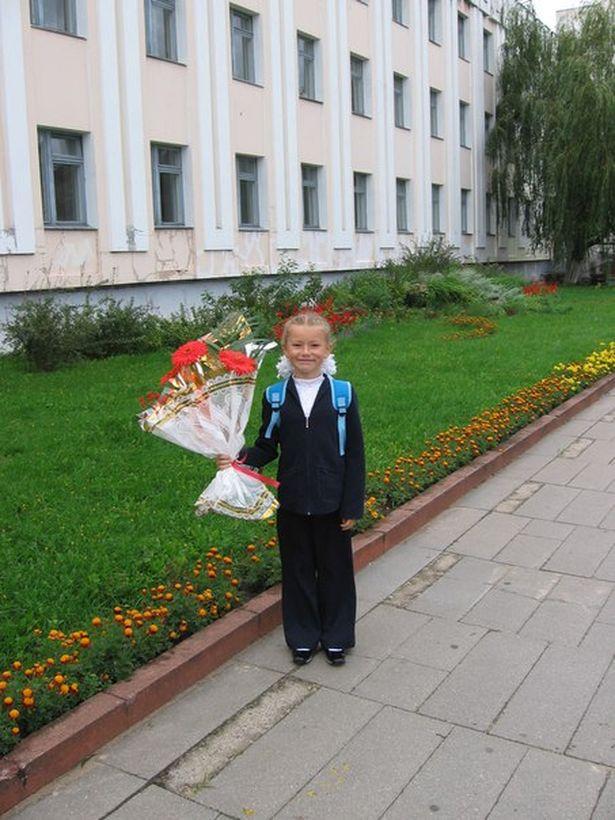 Анна Ярук во втором классе, 2006 год. Фото: архив героини.