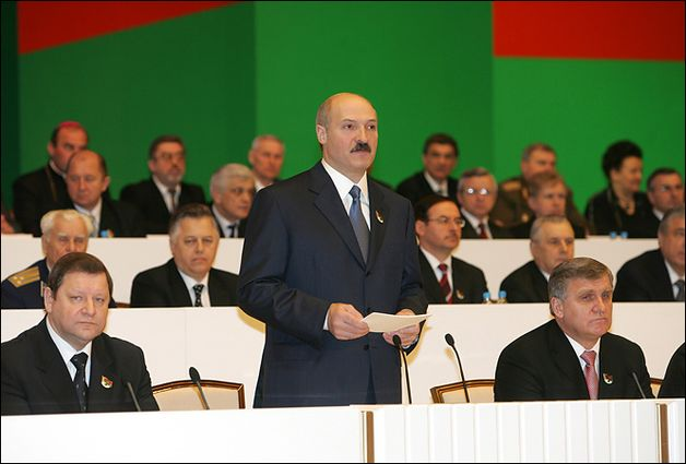 Александр Лукашенко на III Всебелорусском народном собрании