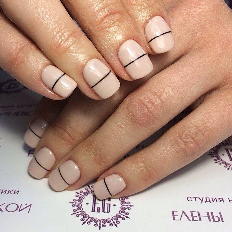 Пастельная палитра актуальна в этом сезоне. Фото: Студия ногтевой эстетики Елены Габриневской.