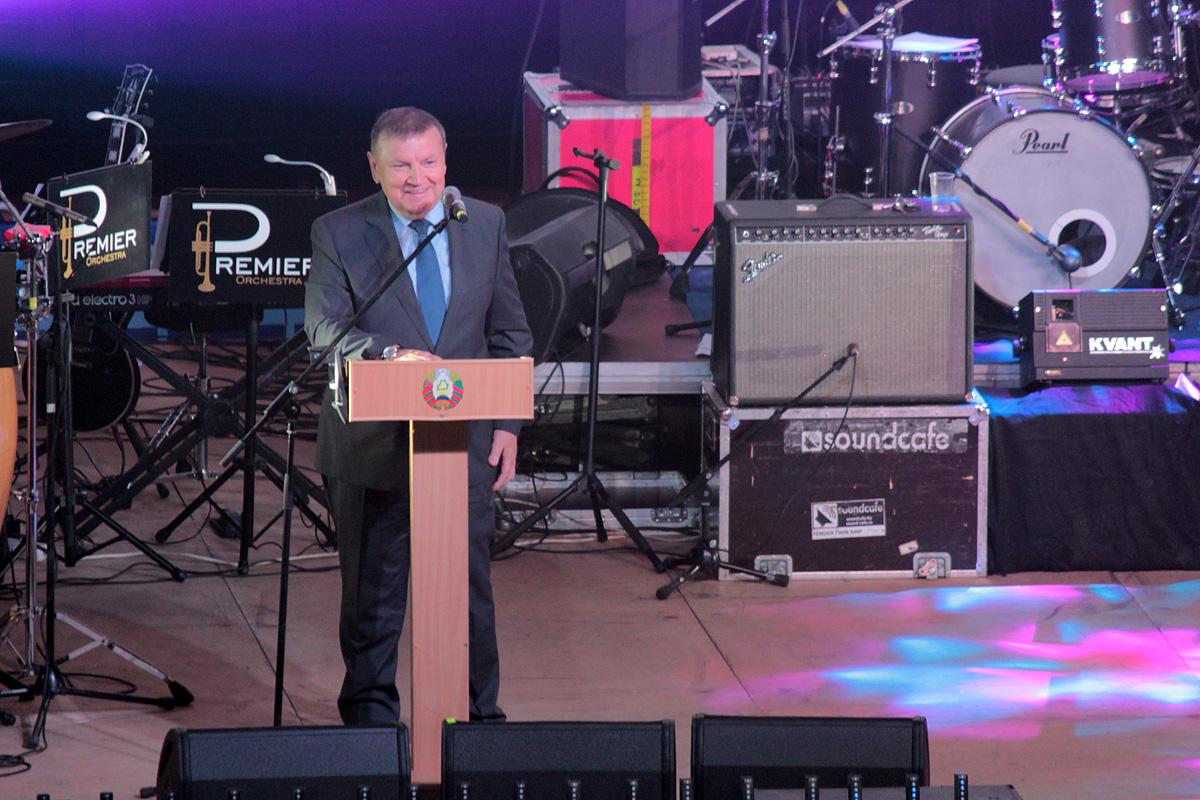 Председатель Госкомвоенпрома Республики Беларусь генерал-лейтенант Сергей Гурулев. Фото: Юрий ПИВОВАРЧИК