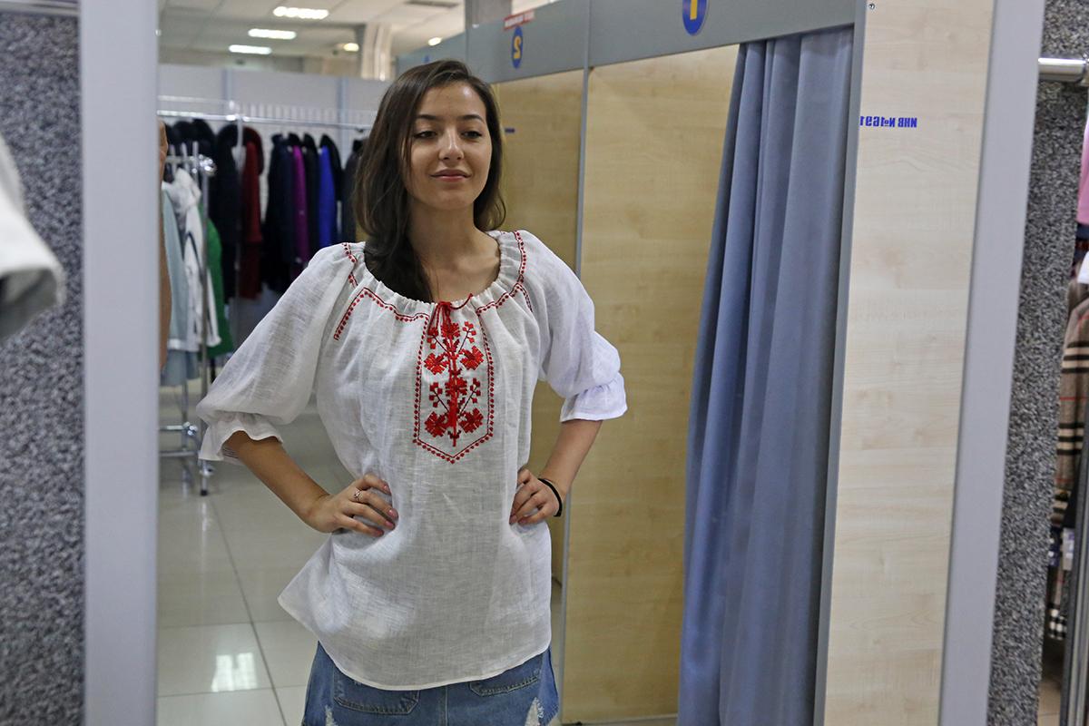 Накануне Дня Независимости можно купить белорусские вышиванки