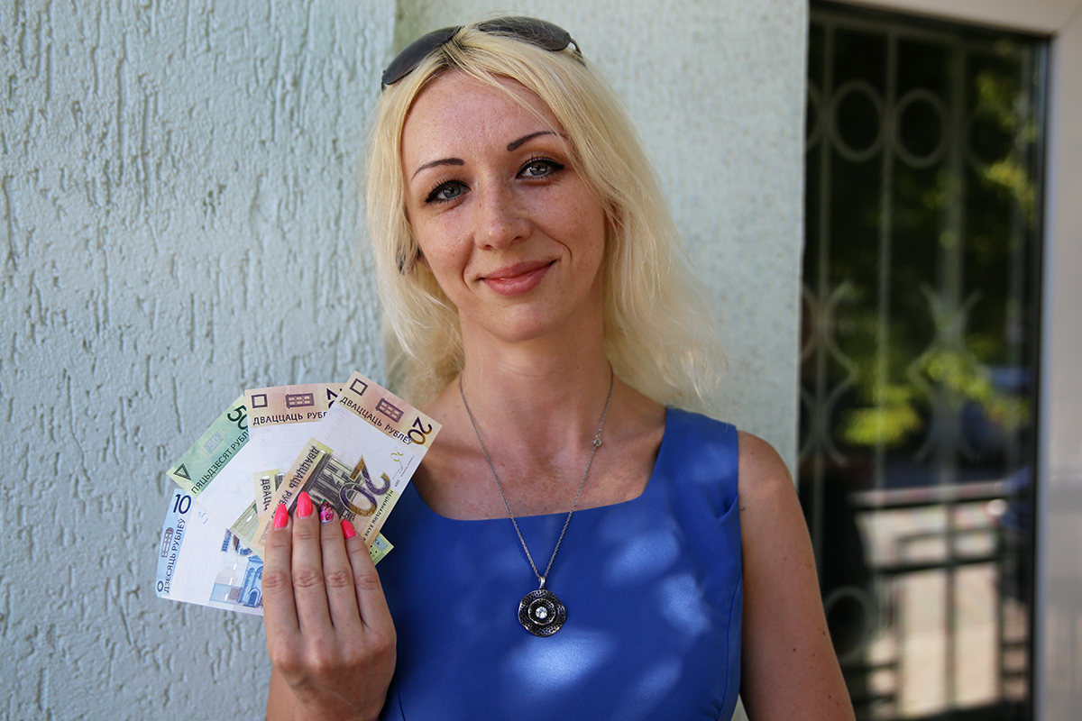 Наталья. Фото: Евгений ТИХАНОВИЧ