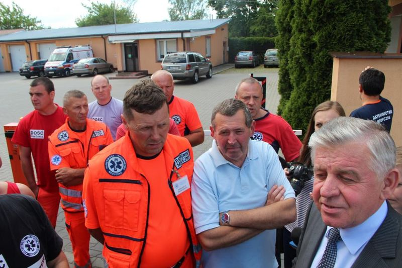Врачи скорой помощи требуют увольнения начальника. Фото: сайт dziennikwschodni.pl