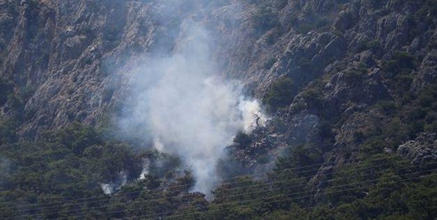 В Турции – лесные пожары. Фото: сайт ntv.com.tr