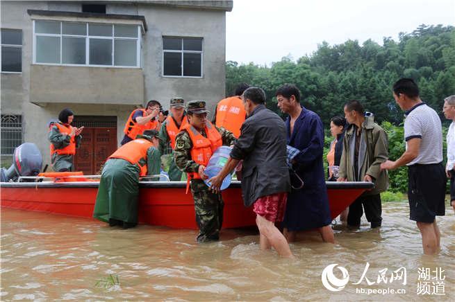 Чиби борется с последствиями наводнения. Фото: сайт hb.people.com.cn