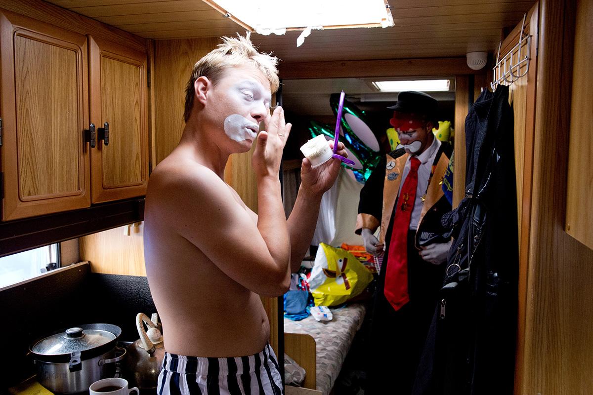 Клоунский дуэт Братья Застенчивые