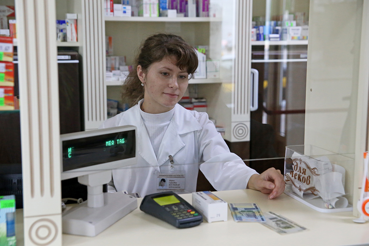 Провизор-рецептар Мария Сергеевна