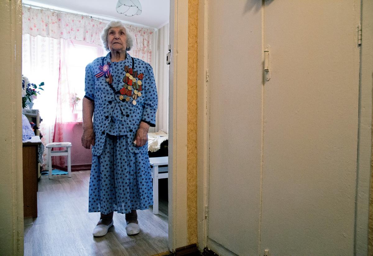 Ольга Трофимовна Левенец. Фото: Евгений ТИХАНОВИЧ