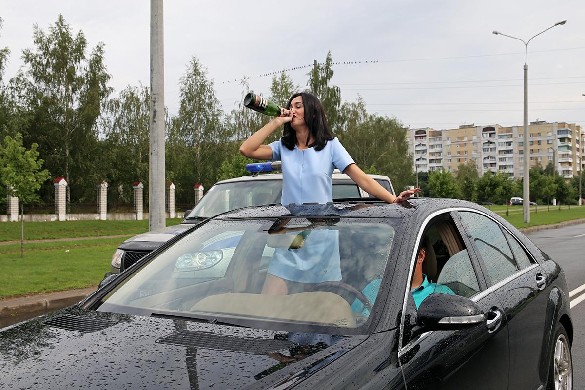 Актриса Вероника вживается в роль своей героини Алены