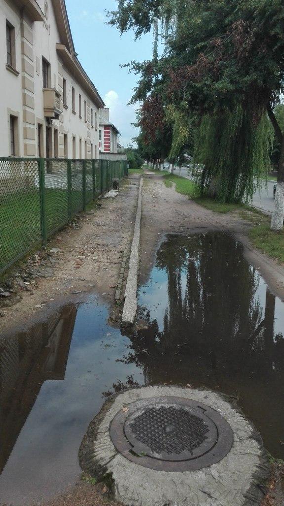 Барановичские улицы и тротуары.