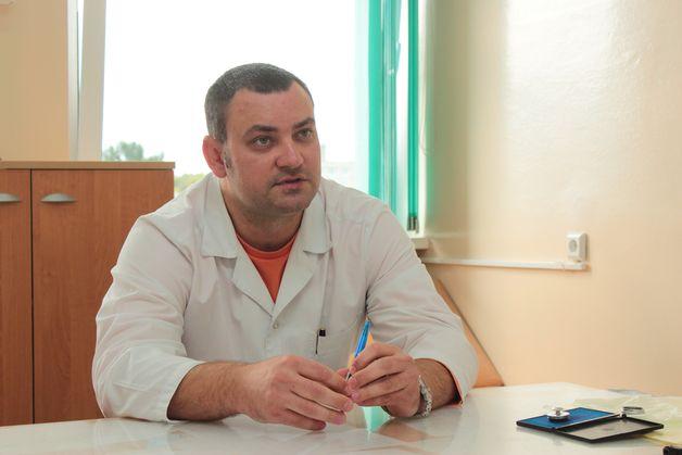 Хирург-проктолог Юрий Уснич. Фото: Юрий ПИВОВАРЧИК