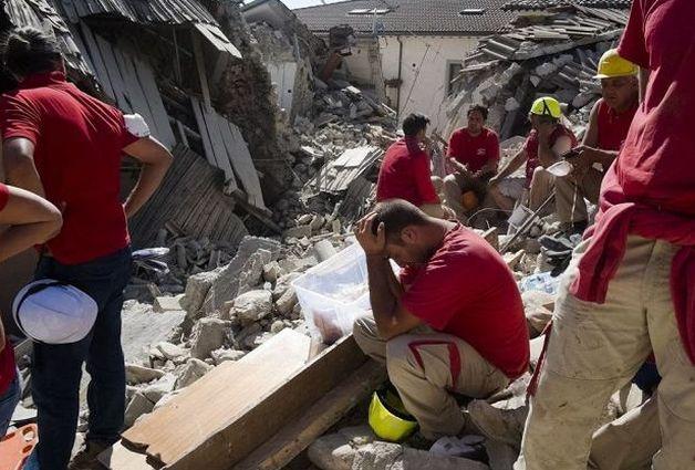 ВИталии уже 247 погибших в итоге землетрясения