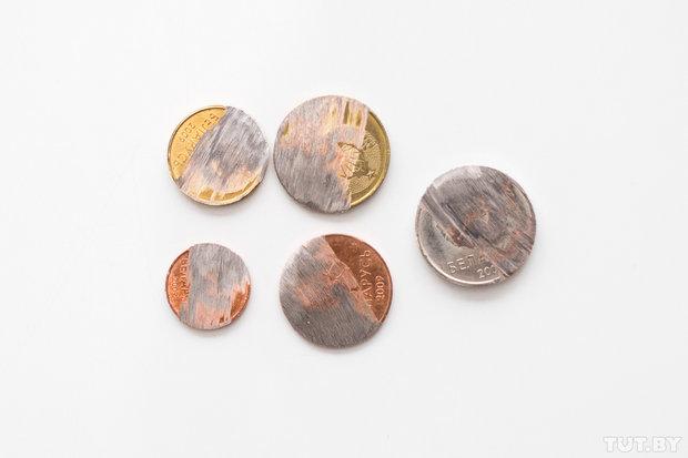 Из чего сделаны монеты?