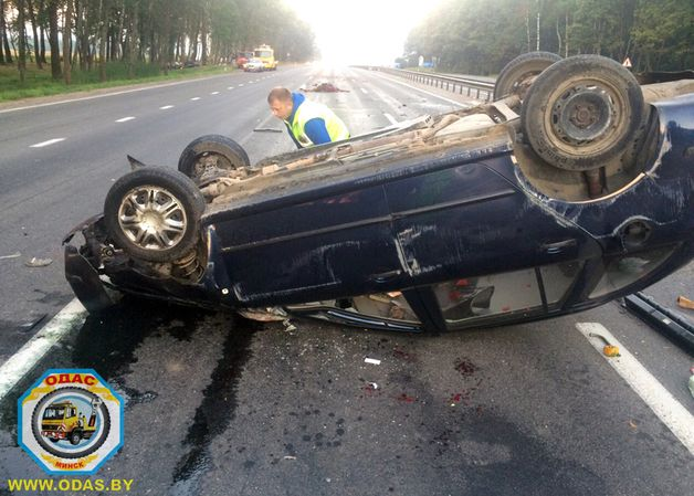 Авария на трассе Р1