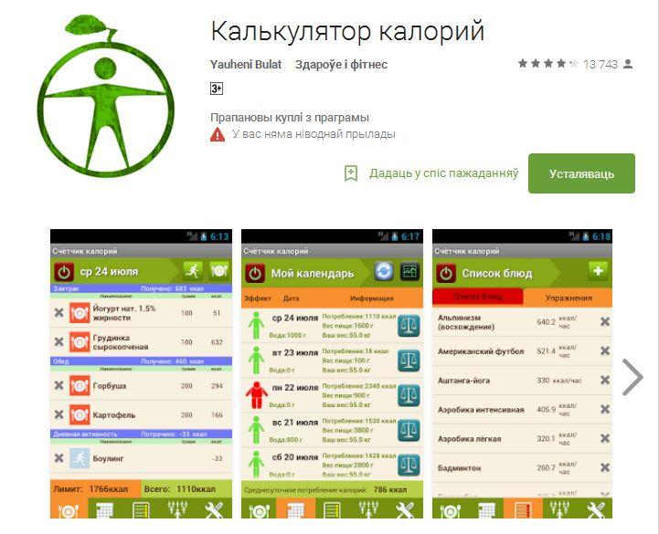 Топ-5 приложений для похудения на Android — Новости Барановичей, Бреста, Беларуси, Мира. Intex-press