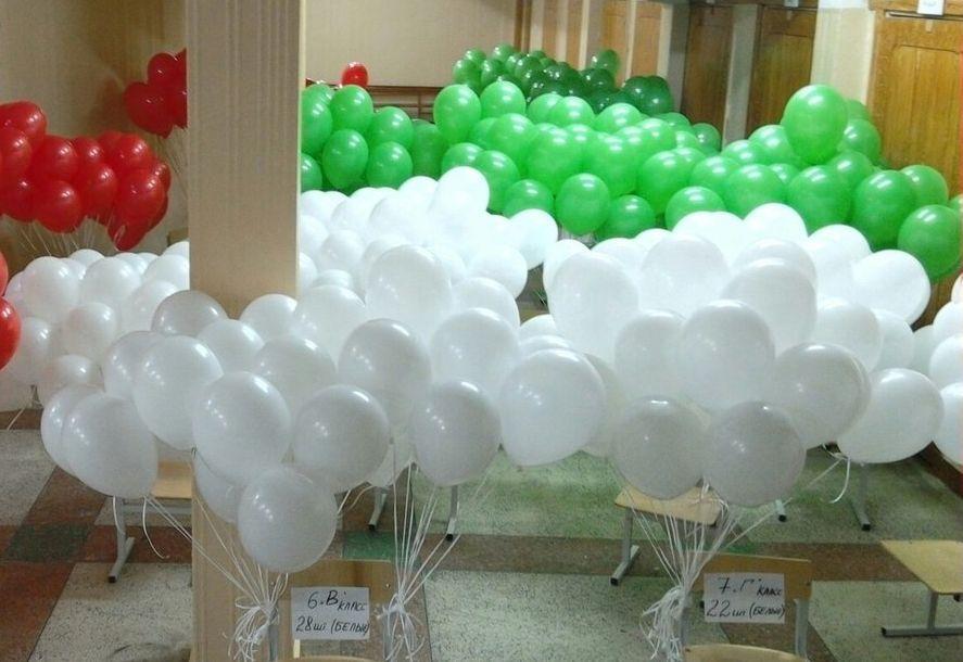 Воздушные шары в гимназии №1. Фото: архив Веры КУНАШЕНКО