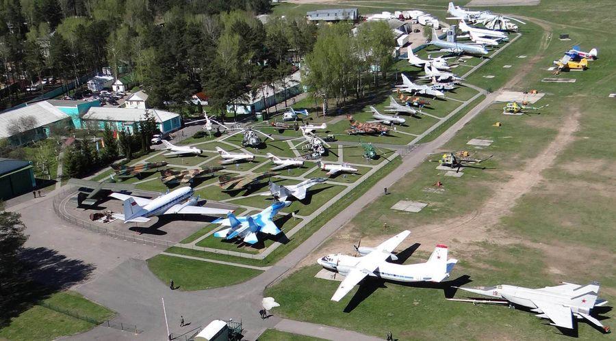 Экспозиция музея. Фото: сайт aircraft-museum.ucoz.ru