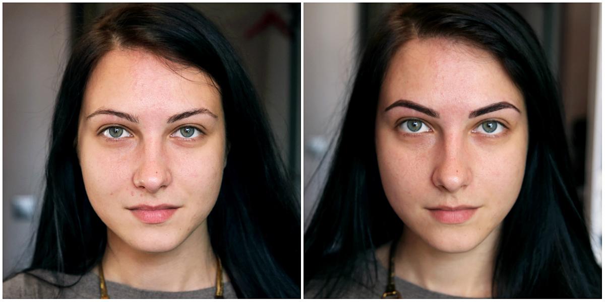До и после. Фото: Евгений ТИХАНОВИЧ
