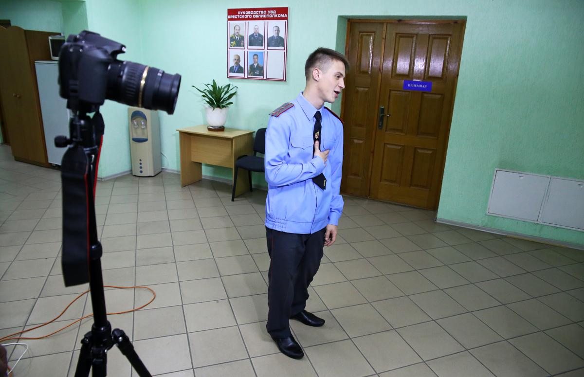 Главный актёр Андрей Барановский. Фото: Евгений ТИХАНОВИЧ