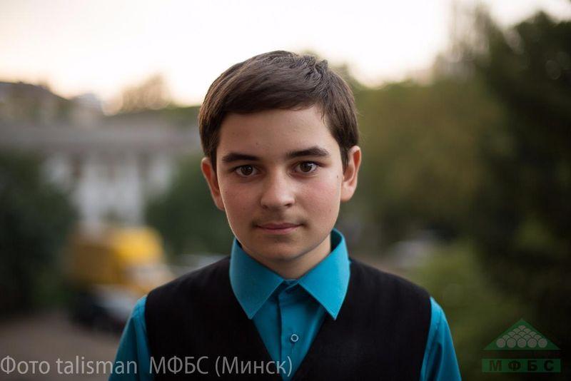 Эрик Голынкин. Фото: сайт probilliard.by