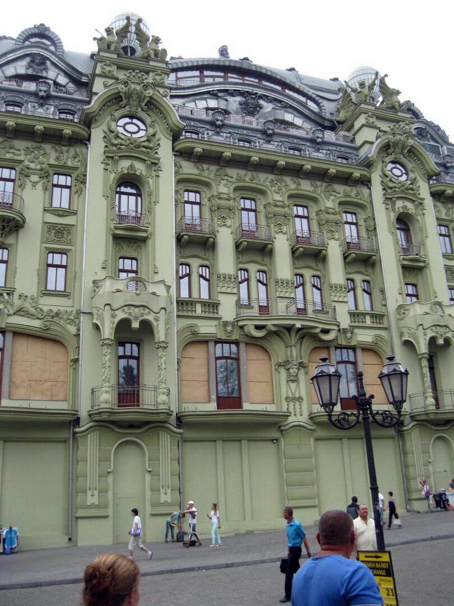 Отель Европа на Дерибасовской. Фото: Алена СЕРИКОВА