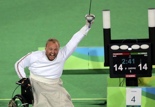 Беларусь взяла 3-е золото наПаралимпиаде вРио