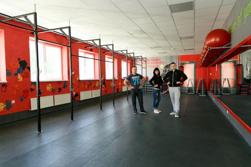 Зал для занятий фитнесом. Фото: Александр КОРОБ