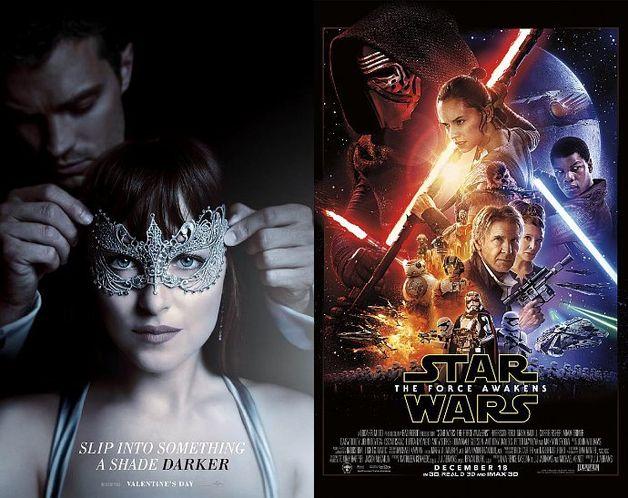 Трейлер фильма «На50 оттенков темнее» побил рекорд «Звездных войн»