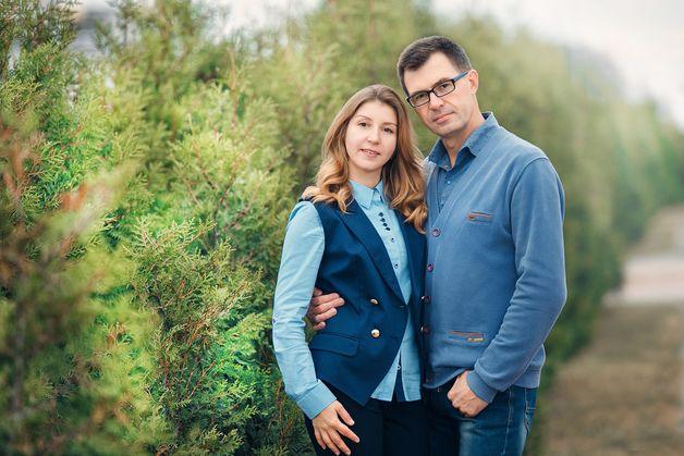 Супруги Ковш считают себя счастливыми людьми и уверены, что общее дело только укрепляет их семью. Фото: Александр КОРОБ