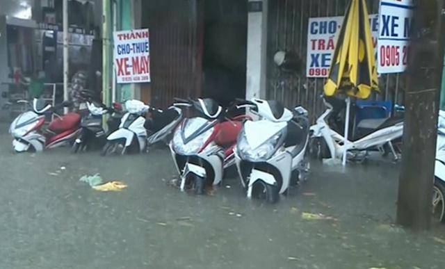 Наводнение в г. Хуэ. Фото: сайт vtv.vn