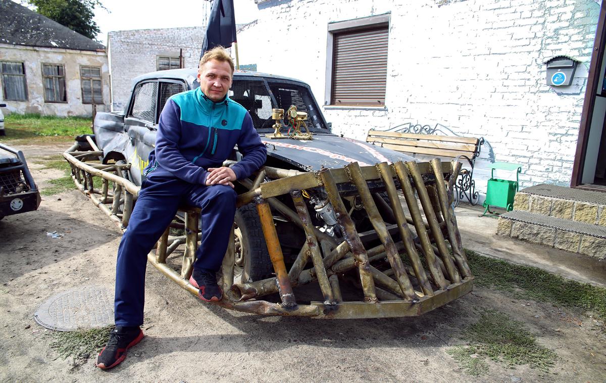Дмитрий Половохин и «Митяй». Фото: Евгений ТИХАНОВИЧ