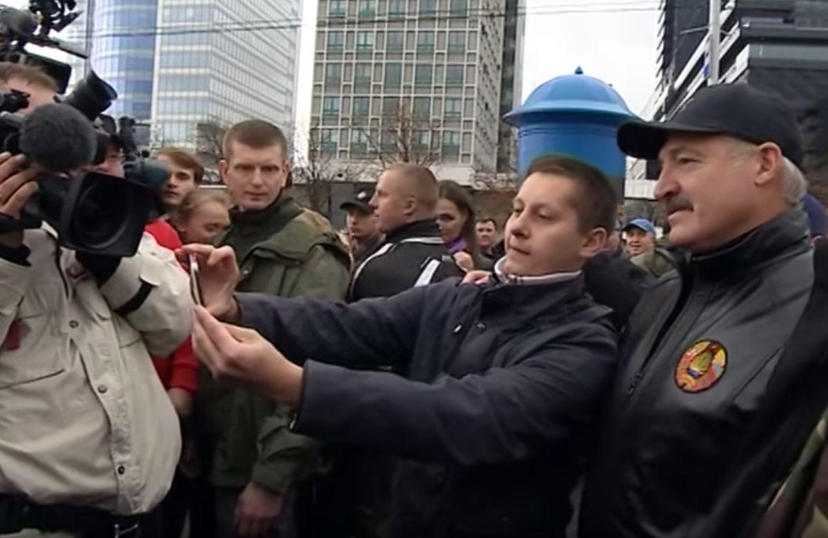 Селфи с Александром Лукашенко. euroradio.fm