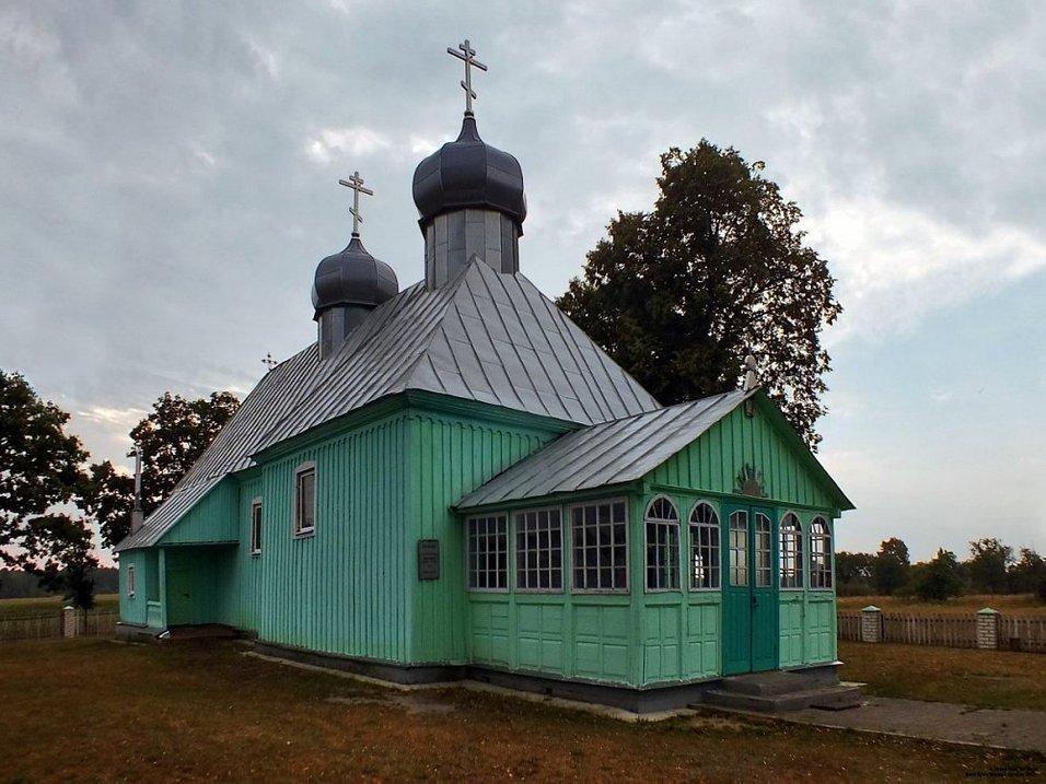 Черск, Михайловская церковь фото: Николай Кузич, globus.tut.by