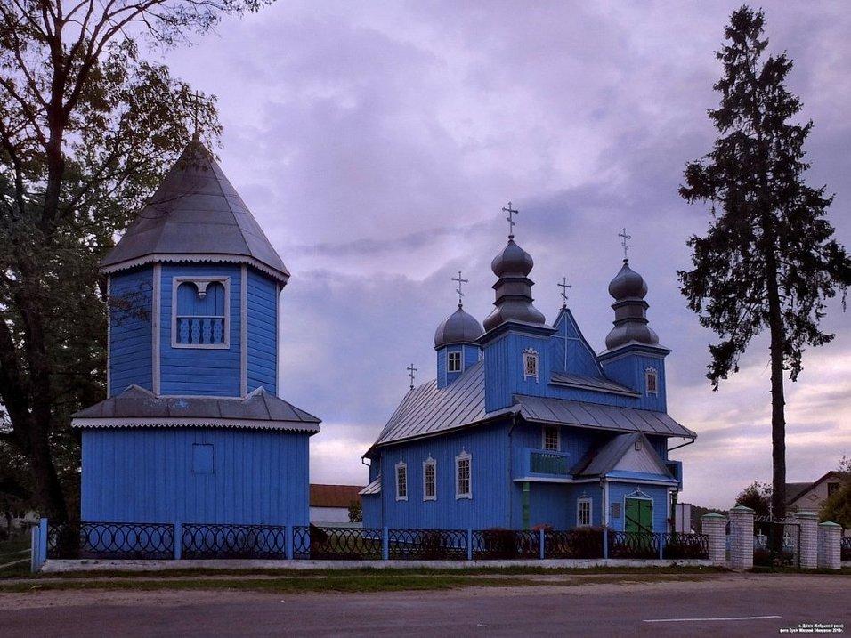 Дивин, церковь Параскевы Пятницы фото: Николай Кузич, globus.tut.by