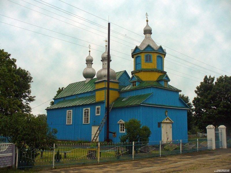 Степанки, Михайловская церковь фото: Николай Кузич, globus.tut.by
