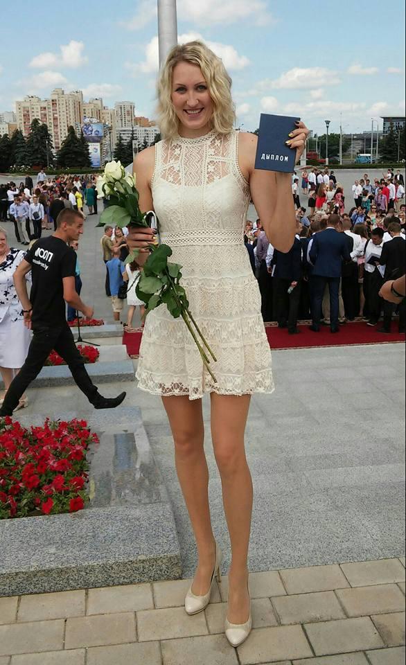 Татьяна Маркевич, доигровщик Фото: Facebook, ВКонтакте