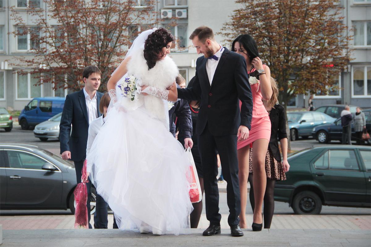 Роман и Валерия Гордейко создали семью 1 октября 2016 года. Фото: Юрий ПИВОВАРЧИК