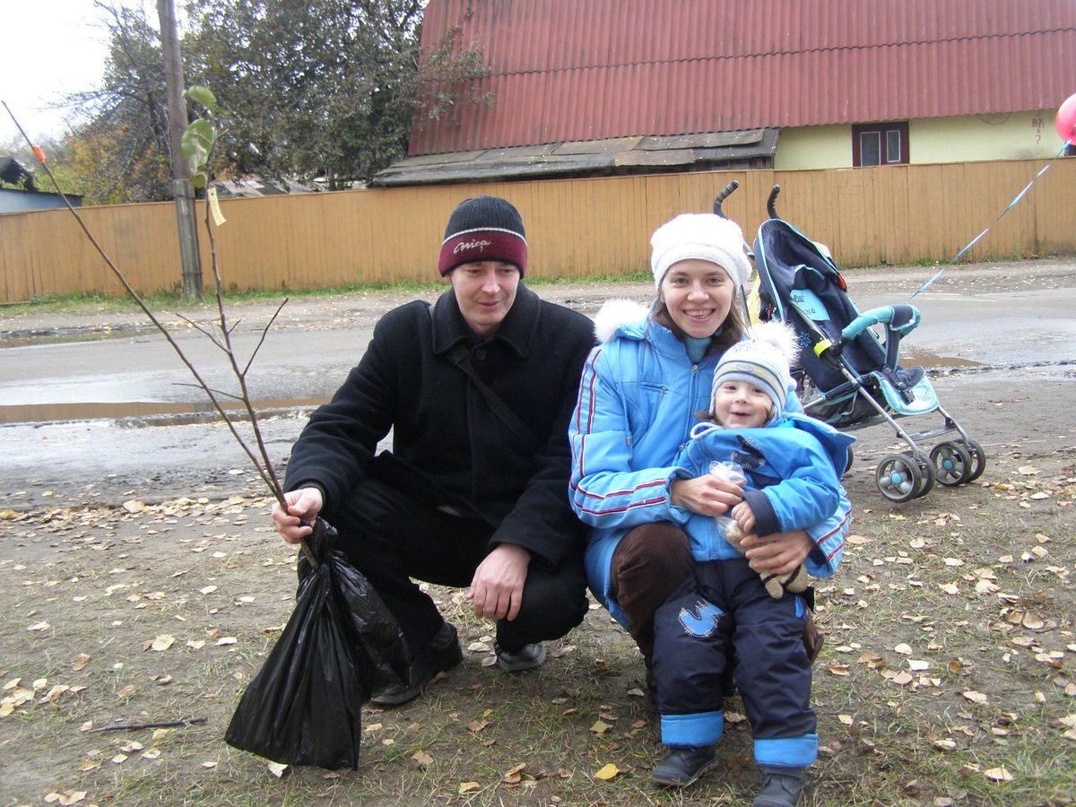 Семья Земоглядчук. Фото: семейный архив