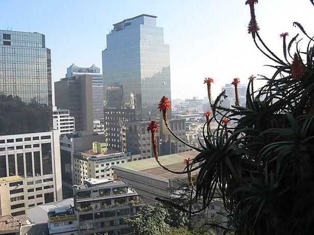 Вид на город с горы Санта Лусия. Фото: из личного архива.