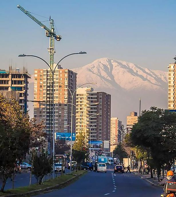 Лас Кондес. Район Сантьяго. Фото: из личного архива.