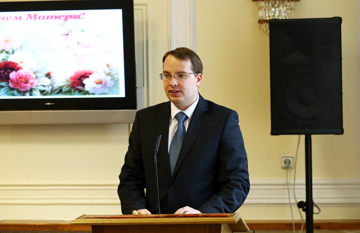 Заместитель председателя горисполкома Алексей Гарбуз. Фото: Евгений ТИХАНОВИЧ