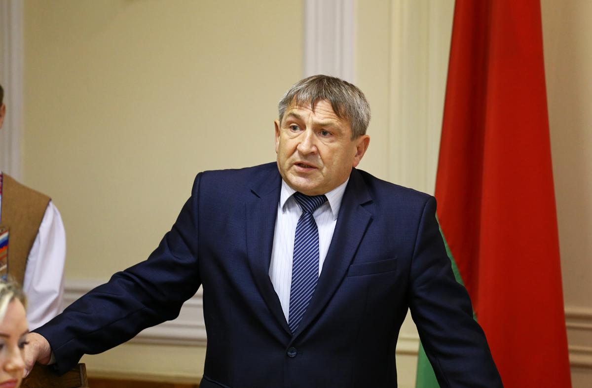 Председатель городского Совета депутатов Александр Селифонтов. Фото: Евгений ТИХАНОВИЧ