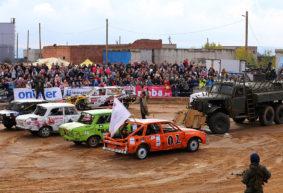В автодерби на «Линии Сталина» барановичские водители заняли два первых, второе и третье места