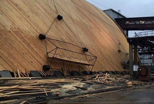 На «Беларуськалии» оборвалась строительная люлька, в которой находились шесть человек