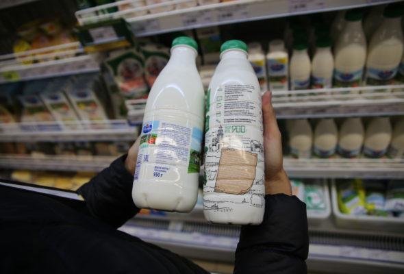 С 2017 года белорусским магазинам на всех товарах рекомендовано указывать цены за литр и килограмм